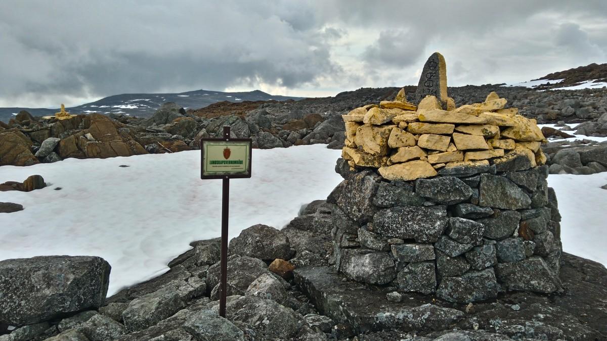 Zdjęcia: granica Norwegii i Finlandii  , Skandynawia , tuż pod szczytem, FINLANDIA
