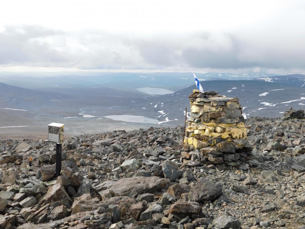 Zdjęcia: szczyt, Skandynawia , Haltiatunturi KGE, FINLANDIA