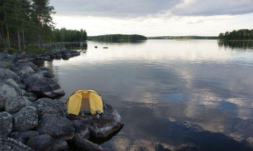 Zdjęcie FINLANDIA / - / Finlandia / Idealny nocleg :)