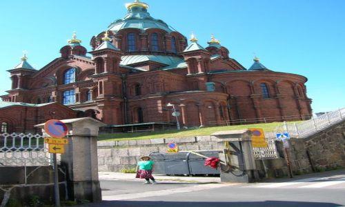 Zdjęcie FINLANDIA / Helsinki / centrum / Cerkiew