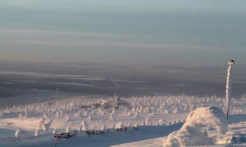 FINLANDIA / Laponia / za kolem polarnym / oaza na dalekiej północy