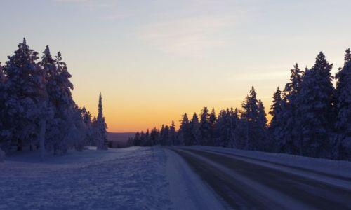 FINLANDIA / Laponia / Akasjampolo / po drodze