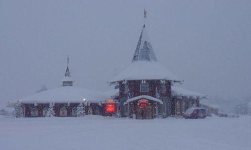 FINLANDIA / Północ Finlandii / Laponia / Biuro Mikołaja