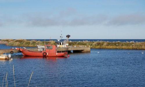 FINLANDIA / Northern Ostrobothnia / Wyspa Hailuoto / Wioska rybacka Marjaniemi na wyspie Hailuoto