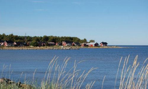 FINLANDIA / Central Ostrobothnia / Wioska rybacka Ohtakari / Wioska rybacka Ohtakari na półwyspie Lohtaja Vaataja