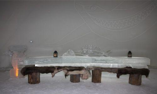 Zdjęcie FINLANDIA / Laponia / Kemi / Stół