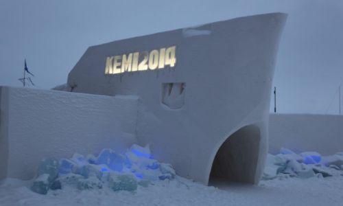 Zdjecie FINLANDIA / Laponia / Kemi / Zamek to, czy okręt?