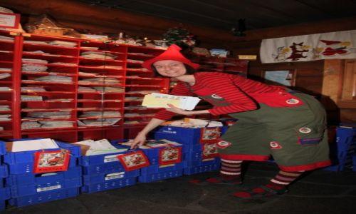 Zdjęcie FINLANDIA / Laponia / Rovaniemi / Pomocnica Świętego Mikołaja