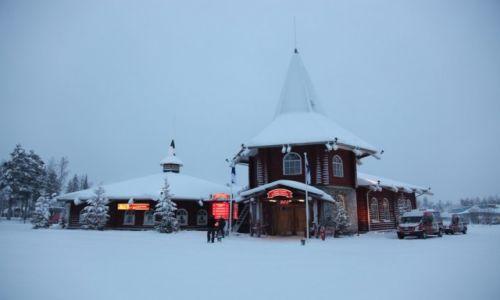 Zdjecie FINLANDIA / Laponia / Rovaniemi / Recepcja Świętego Mikołaja