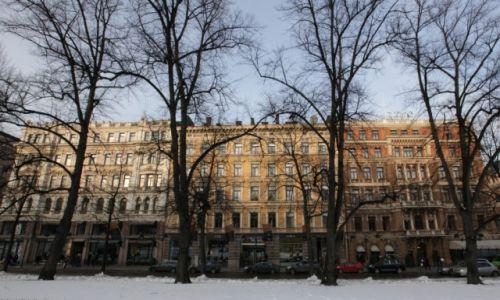 Zdjęcie FINLANDIA / Uusimaa / Helsinki / Domy Esplanady