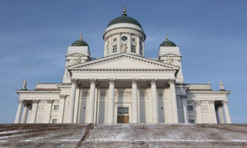 Zdjęcie FINLANDIA / Uusimaa / Helsinki / Katedra luterańska