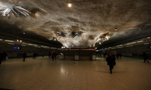 Zdjęcie FINLANDIA / Uusimaa / Helsinki / Kamppi (Kampen) stacja metra