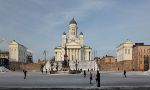 Zdjęcie FINLANDIA / Uusimaa / Helsinki, Plac senacki / Katedra luterańska