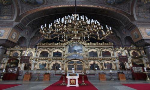 Zdjecie FINLANDIA / Uusimaa / Helsinki / Sobór Uspieński Sobór Zaśnięcia Matki Bożej