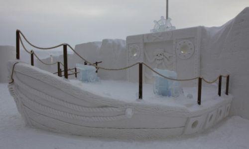 Zdjecie FINLANDIA / Laponia / Kemi, hotel z lodu / Morskie opowieści