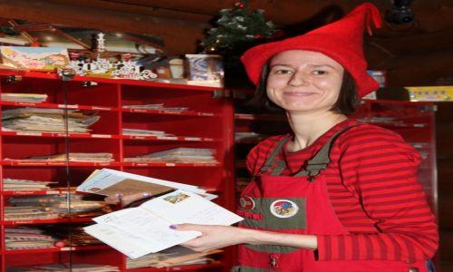 Zdjęcie FINLANDIA / Laponia / Rovaniemi / Elf z poczty Świętego Mikołaja