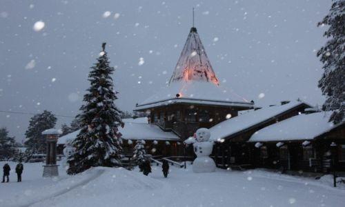 Zdjęcie FINLANDIA / Laponia / Rovaniemi / Wioska Świętego Mikołaja