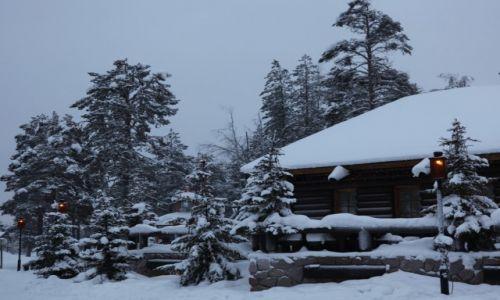 Zdjęcie FINLANDIA / Laponia / Rovaniemi / Pod wieczór