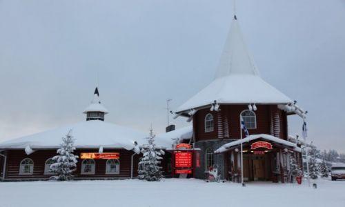 Zdjęcie FINLANDIA / Laponia / Rovaniemi / Recepcja Świętego Mikołaja