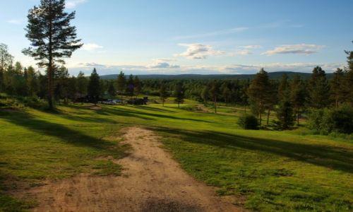 Zdjęcie FINLANDIA / Laponia / Rovaniemi / Rovaniemi, czerwiec, godzina 23.13