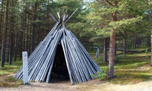 Zdjęcie FINLANDIA / Laponia / Inari / tak mieszkali Saamowie 2