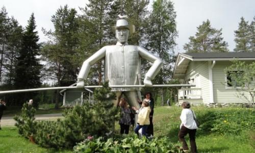 Zdjecie FINLANDIA / Fińska Laponia / Okolice Kemi / Był sobie rybak