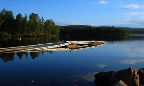 Zdjecie FINLANDIA / Laponia / Inari / Jezioro Inari