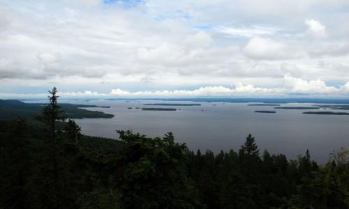 FINLANDIA / Karelia / Park Narodowy Koli / Jezioro Pielinen
