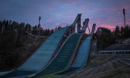 Zdjecie FINLANDIA / South / Lahti / Wiecz�r w Lahti