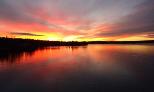 Zdjęcie FINLANDIA / Laponia / Rovaniemi / Wschód słońca w Laponii
