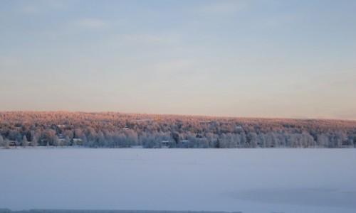 Zdjęcie FINLANDIA / Laponia / Rovaniemi / Zima