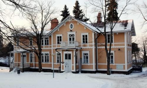 Zdjęcie FINLANDIA / Uusimaa  / Helsinki / Fiński domek