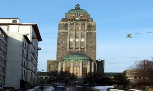 Zdjęcie FINLANDIA / Uusimaa  / Helsinki / Kościół w Kallio