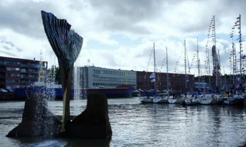 Zdjecie FINLANDIA / Turku / Port / Jachty
