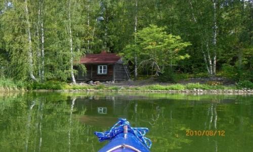 FINLANDIA / Jezioro Paijanne / Lahti / navigare..