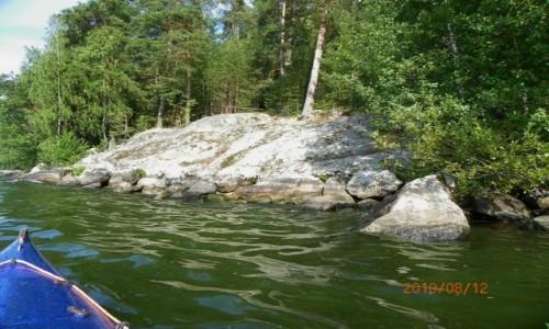 Zdjecie FINLANDIA / EUROPA I ŚWIAT / Paijanne / pływamy...