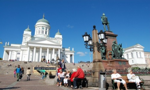 Zdjecie FINLANDIA / Finlandia / Helsinki / Moje wspomnienia z Helsinek