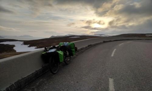 Zdjecie FINLANDIA / - / W drodze  / Na Nordkappie koło 22:00