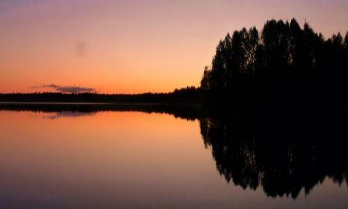 Zdjęcie FINLANDIA / Laponia / Inari (jezioro) / Inari