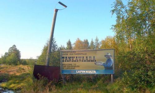 Zdjecie FINLANDIA / Tankavarra / kopalnia złota / kopalnia złota w Finlandii