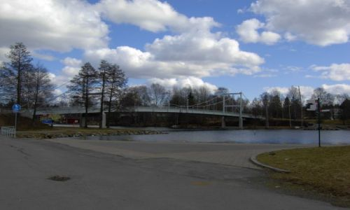 Zdjecie FINLANDIA / południe kraju / valkeakoski / most