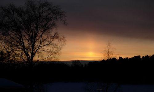 Zdjecie FINLANDIA / południe kraju / Valkeakoski / zachód słońca