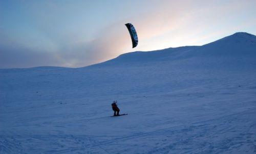 FINLANDIA / Laponia / laponia / alternatywa na wędrowanie na nartach biegowych