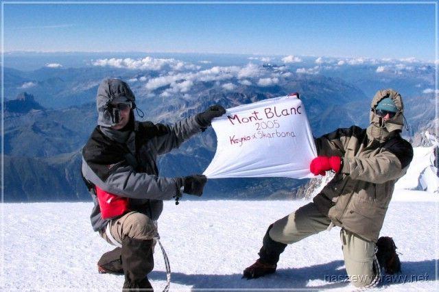 Zdjęcia: Szczyt Mount Blanc, Masyw Mount Blanc, NaszeWyprawy na Mount Blanc, FRANCJA