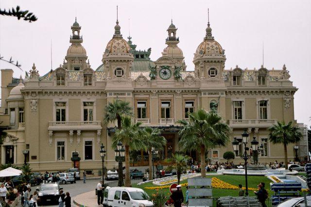 Zdj�cia: Monte Carlo - Casino, Lazurowe Wybrze�e, Lazurowe Wybrze�e, FRANCJA