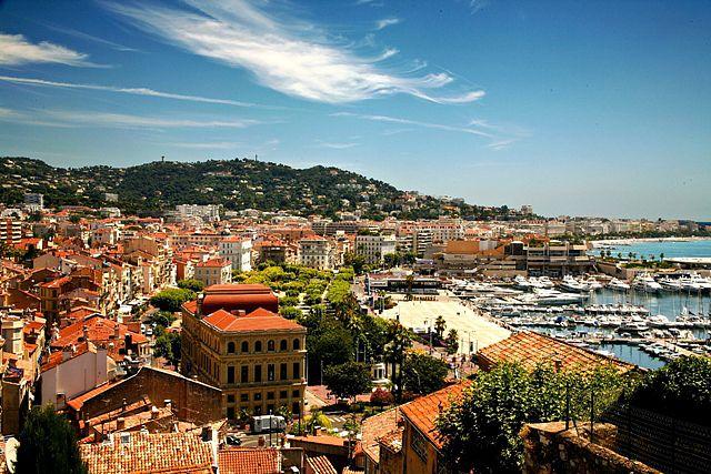 Zdjęcia: Cannes, Cote d'Azur, Widok na miasto, FRANCJA