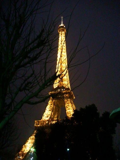 Zdjęcia: Paryż, konkurs -wieża Eiffla nocą , FRANCJA