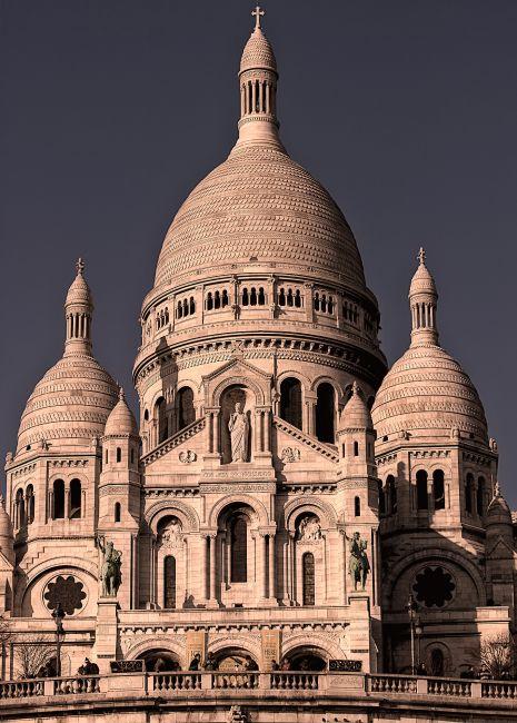 Zdjęcia: Paris street, Paris, Basilique du Sacré-Cœur, Paris, FRANCJA