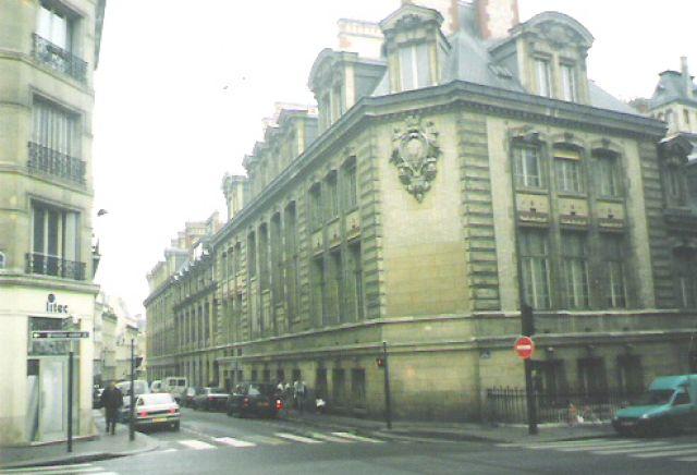 Zdj�cia: Pary�, Budynek Sorbony, FRANCJA
