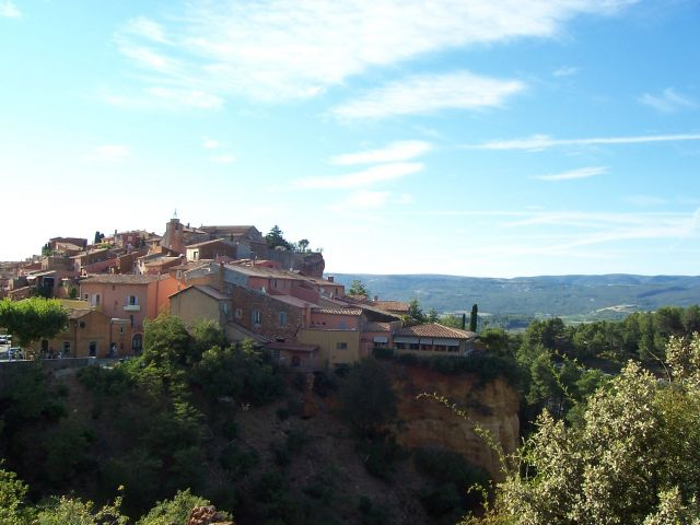 Zdjęcia: Roussillon miasteczko, Prowansja, Roussillon miasteczko, FRANCJA